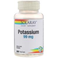 Solaray Potassium 99 mg