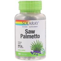 Solaray Saw Palmetto Whole Berry 580 mg