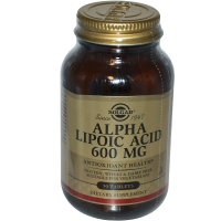 Solgar Alpha Lipoic Acid 600 mg