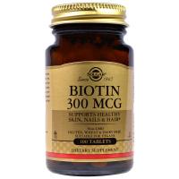 Solgar Biotin 300 mcg (100 таб)