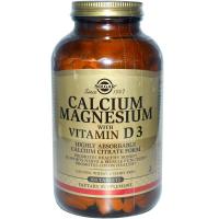 Solgar Calcium Magnesium with Vitamin D3