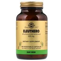 Solgar Eleuthero 520 mg - Сибирский женьшень