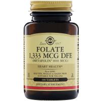 Solgar Folate 800 mcg - Метафолин