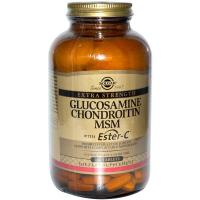 Solgar Glucosamine Chondroitin MSM With Ester-C