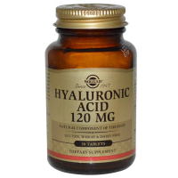 Solgar Hyaluronic Acid 120 mg - Гиалуроновая кислота