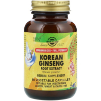 Solgar Korean Ginseng Root Extract - Корейский женьшень