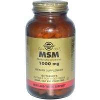 Solgar MSM 1000 mg (Метилсульфонилметан)