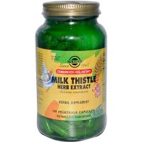 Solgar Milk Thistle Herb Extract - Расторопша пятнистая экстракт