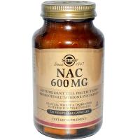 Solgar NAC 600 mg (Ацетилцистеин)