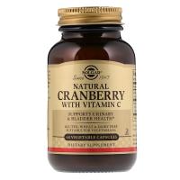 Solgar Natural Cranberry with Vitamin C - Клюква