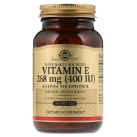 Solgar Natural Vitamin E 268 mg (400 IU)