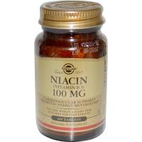 Solgar Niacin 100 mg - Витамин B3