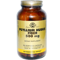 Solgar Psyllium Husks Fiber 500 mg - Клетчатка
