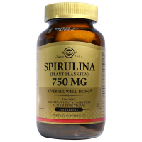 Solgar Spirulina 750 mg - Спирулина