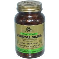 Solgar Vegetal Silica - Растительный диоксид кремния