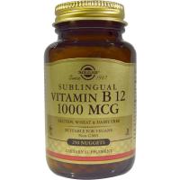 Solgar Sublingual Vitamin B 12 1000 mcg - Цианокобаламин