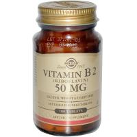 Solgar Vitamin B 2 50 mg - Рибофлавин