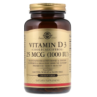 Solgar Vitamin D3 1000 IU (25 mcg) (250 капс)