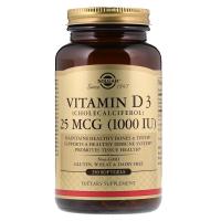 Solgar Vitamin D3 1000 IU (25 mcg) капс