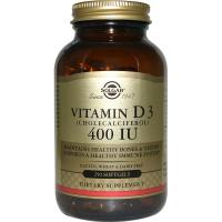 Solgar Vitamin D3 400 IU (250 капс)