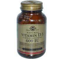 Solgar Vitamin D3 600 IU