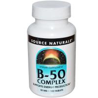 Source Naturals B-50 Complex