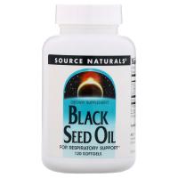 Source Naturals Black Seed Oil - Масло черного тмина