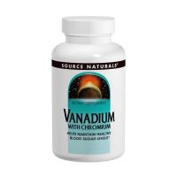 Source Naturals Vanadium with Chromium - Ванадий