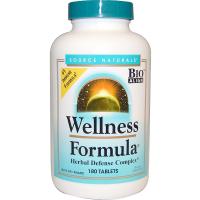 Source Naturals Wellness Formula Herbal Defense Complex - Витамины для укрепления иммунитета