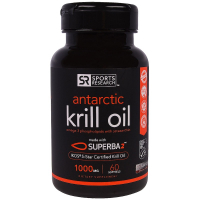 Sports Research Antarctic Krill Oil 1000 mg - Жир антарктического криля