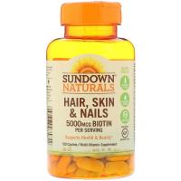 Sundown Naturals Hair, Skin & Nails