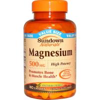 Sundown Naturals Magnesium 500 mg