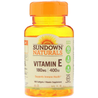 Sundown Naturals Vitamin E 180 mg (400 IU)