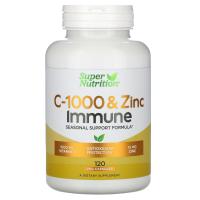 Super Nutrition C-1000 & Zinc Immune
