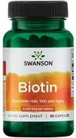 Swanson Biotin 5,000 mcg