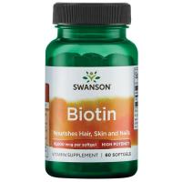 Swanson Biotin-Hi Protency 10000 mcg
