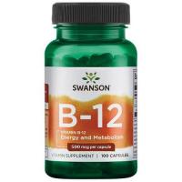 Swanson Vitamin B-12 500 mcg