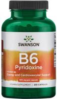 Swanson Vitamin B-6 100 mcg