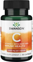Swanson Vitamin C with Rose Hips 1000 mg