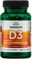 Swanson Vitamin D3 Highest Potency 5,000 IU (125 mcg)