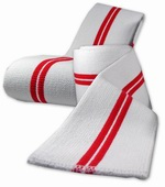 Бинты коленные TITAN Red Devil New&Improved Knee Wraps (длина 2 м)