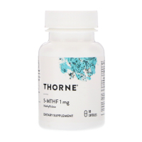 Thorne Research 5-MTHF 1 mg - 5-метилтетрагидрофолат
