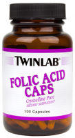 Twinlab Folic Acid Caps (100 капc)