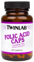 Twinlab Folic Acid Caps (100 капc)