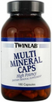 Twinlab Multi Mineral Caps (180 капс)