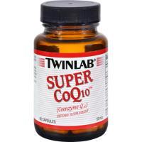 Twinlab Super CoQ10 Caps 50mg