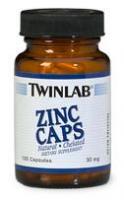 Twinlab Zinc Caps 50 mg (90 капс)