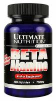 Ultimate Nutrition Beta Alanine 750mg