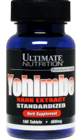 Ultimate Nutrition Yohimbe Bark 800 mg