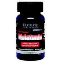 Ultimate Nutrition Melatonin 100% Premium 3 mg (60 капс)